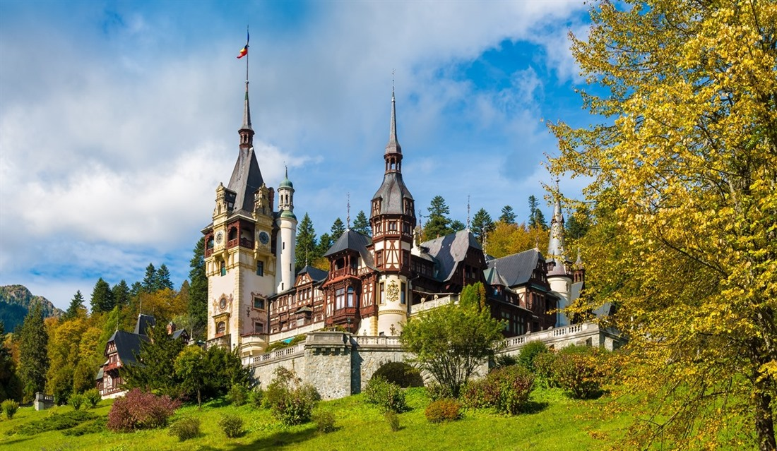 Peleș Castle in Romania