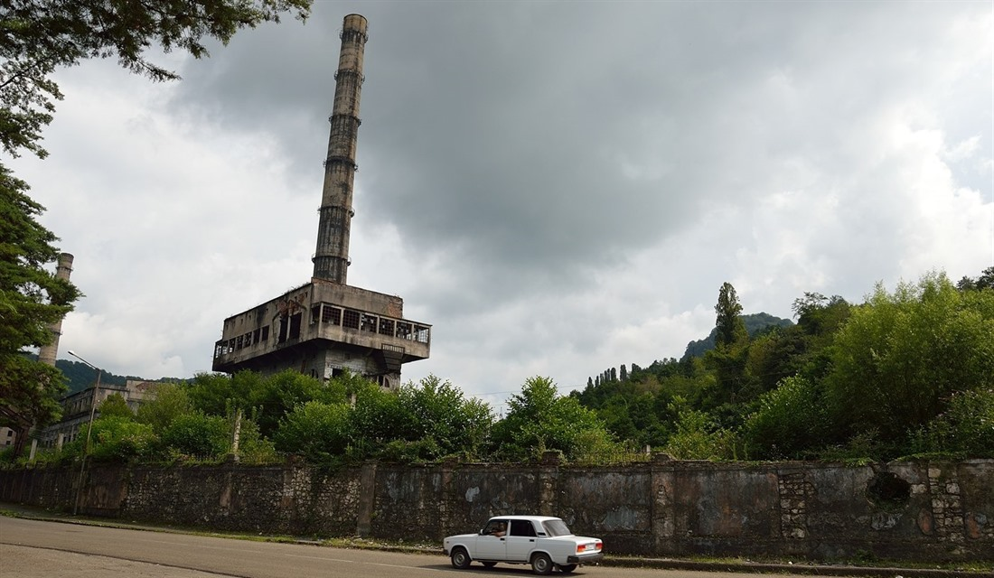 Inside Abkhazia: exploring the breakaway state : Section 3