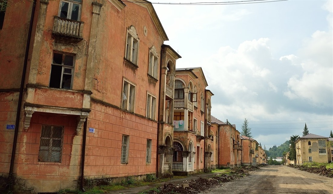 Inside Abkhazia: exploring the breakaway state : Section 6