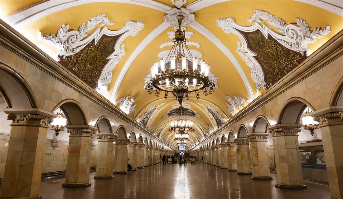 Impressions of Moscow and St Petersburg : Section 4