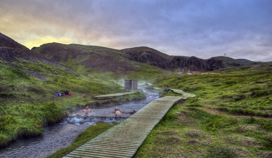 Top five places to swim in Iceland : Section 2