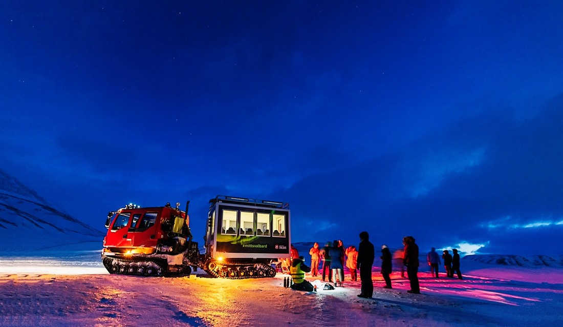Top five things to do in Svalbard in winter : Section 4