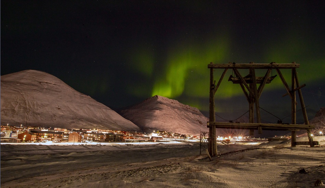 Northern Lights in Svalbard