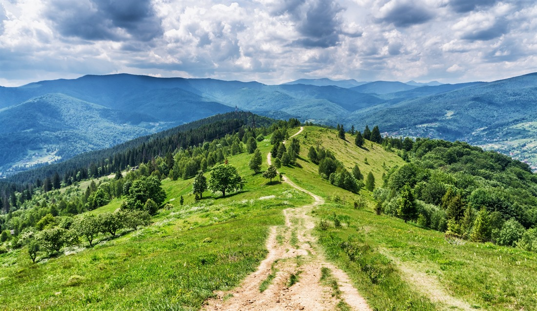 Carpathian Mountains, Western Ukraine