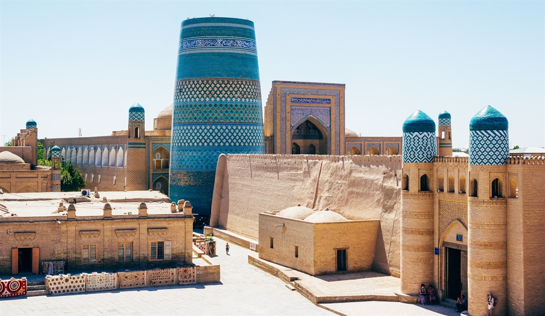 Itchan Kala, the inner walled town of Khiva