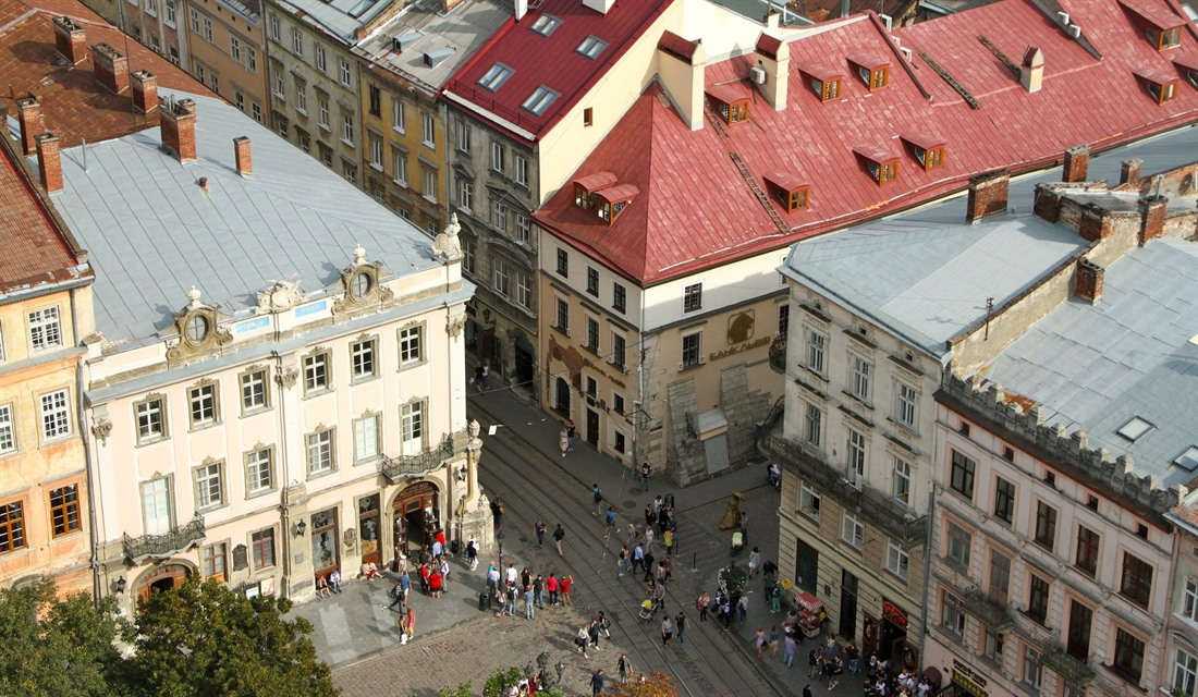 Lviv a little: a weekend in Ukraine's capital of culture, by Mike Unwin : Section 7