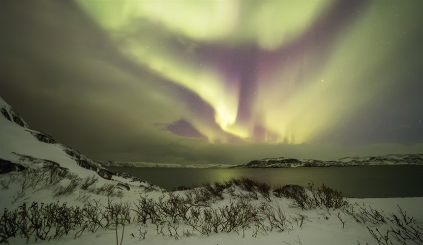 Northern lights myths from around the world : Section 8