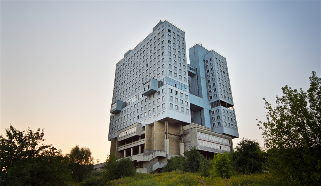 Abandoned 'House of Soviets' skyscraper