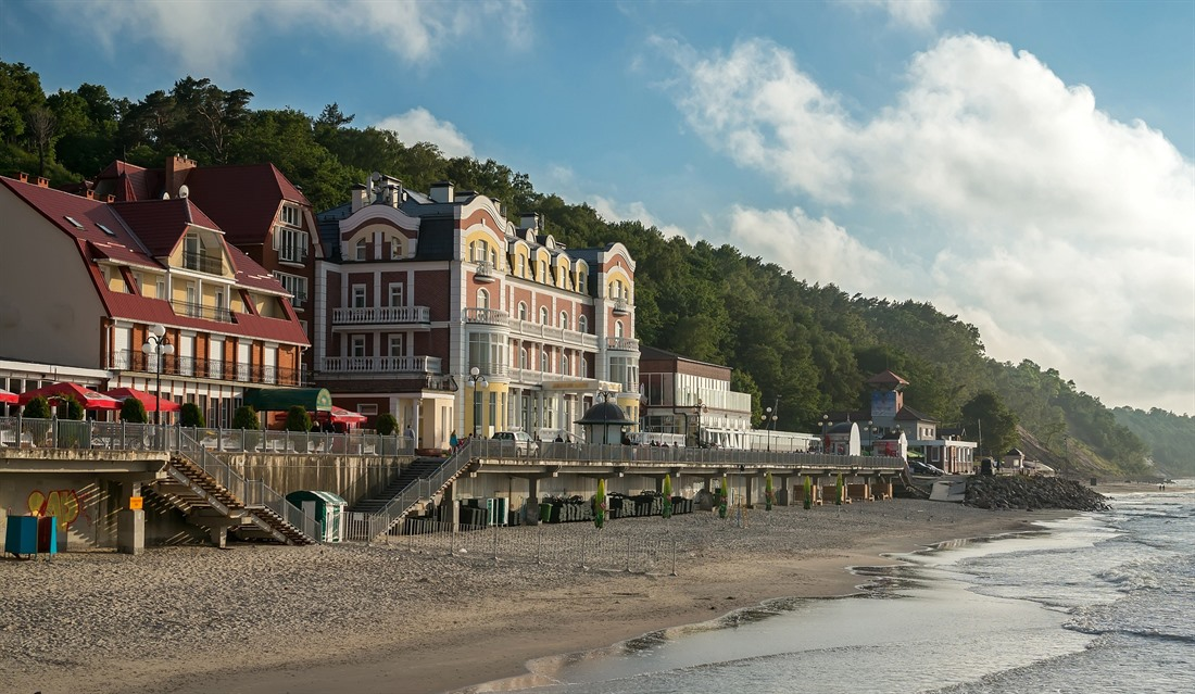 Svetlogorsk beach resort