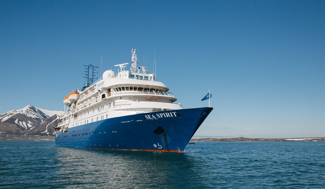 The M/V Sea Spirit, photo credit John Bozinov