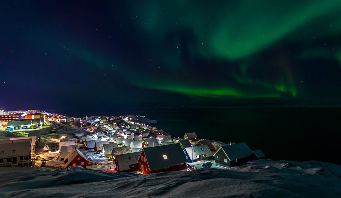 Christmastime in Greenland
