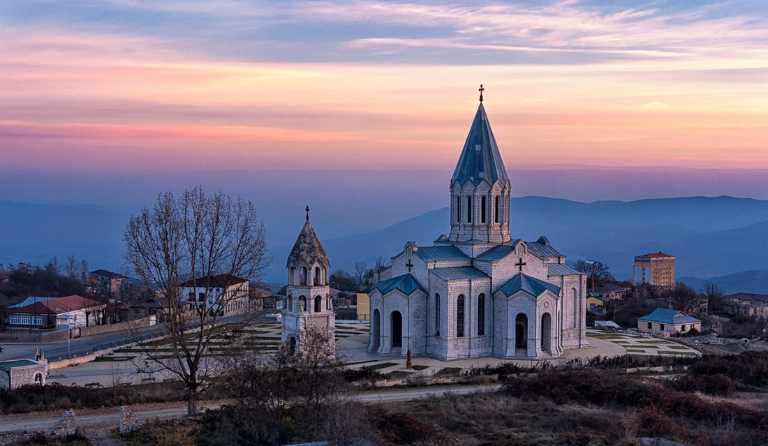 Sunset in Nagorno-Karabakh