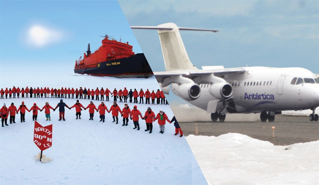 Battle of the Poles: The Arctic Vs Antarctica  : Section 4