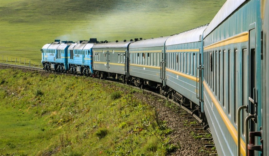 The Trans-Siberian Express is a magical way to traverse Russia's expanse. © Shutterstock/Yannik Photography