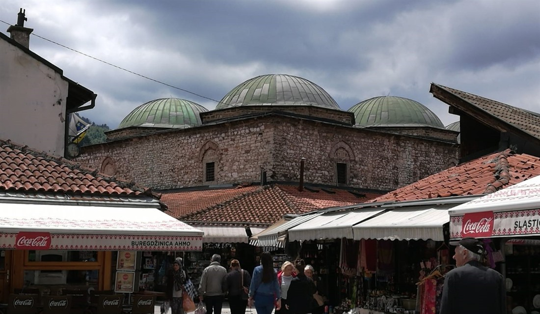 The Old Town in Sarajevo, photographed by Carole Pugh