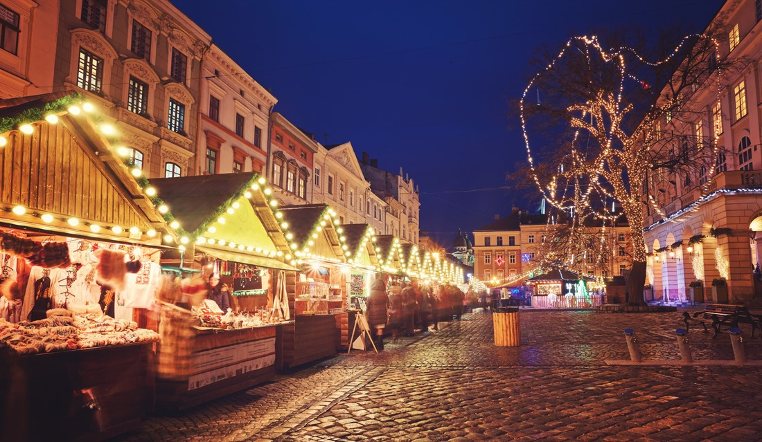 Lviv looks spectacular at Christmas