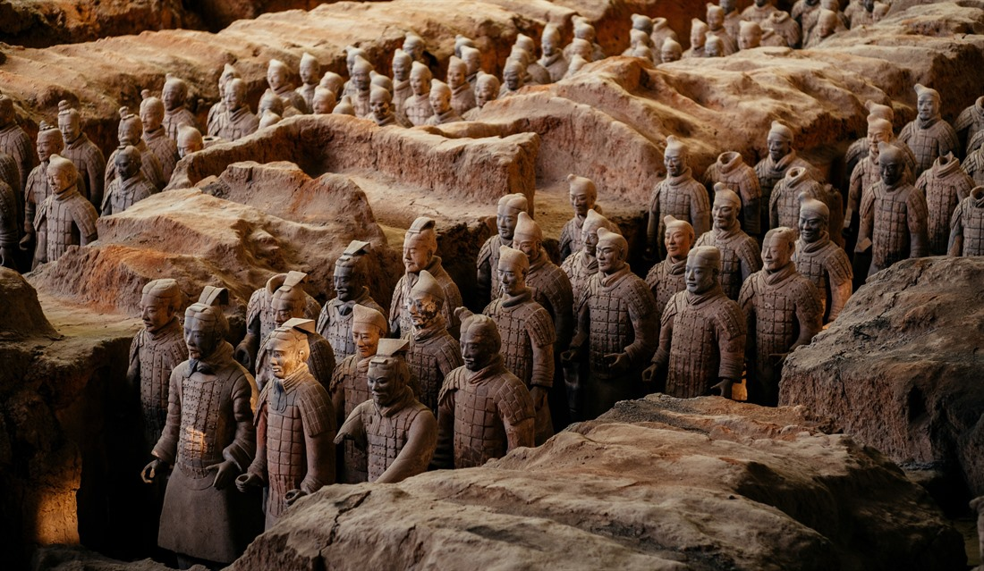 The unique figures of the Terracotta Army