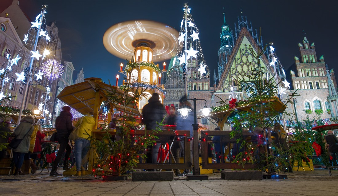 Christmas Market in Wroclaw