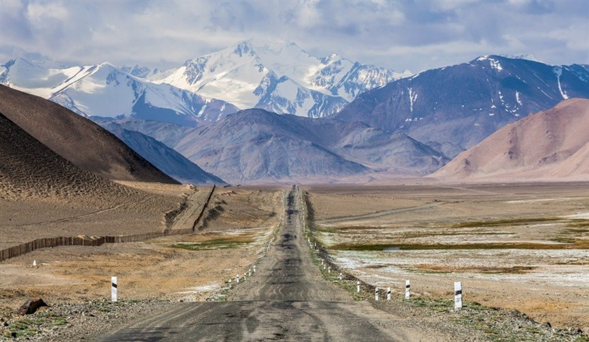 Where to go in Central Asia : Section 5