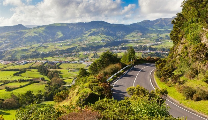 Driving in the Azores