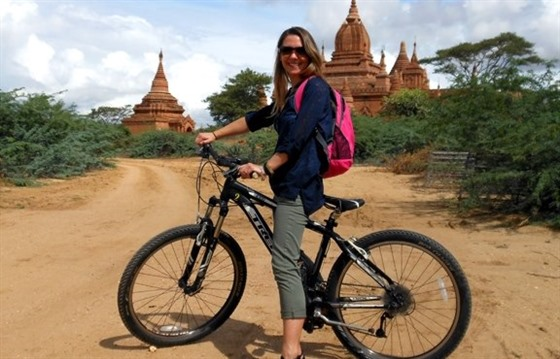 Biking in Bagan : Section 3