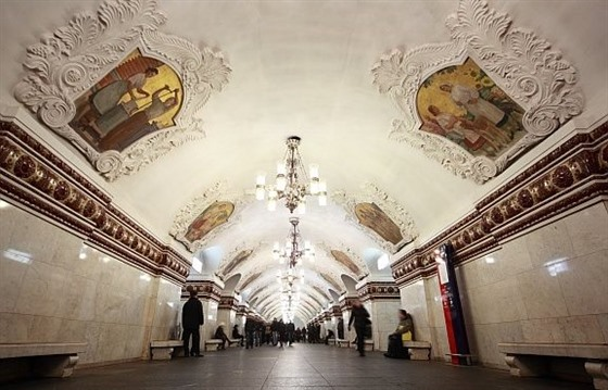 Five Of The Best Moscow Metro Stations : Section 3