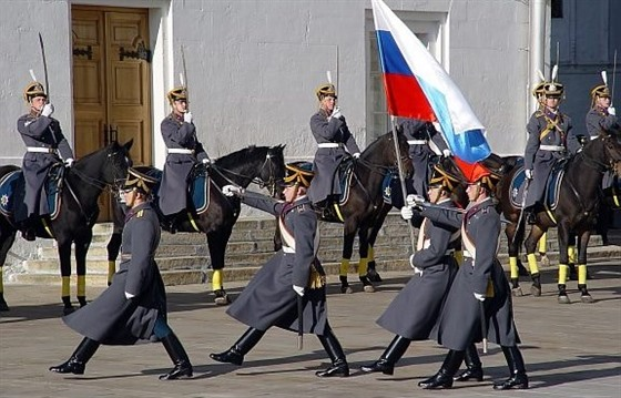 Presidential Horse Guard Ceremony, Moscow
