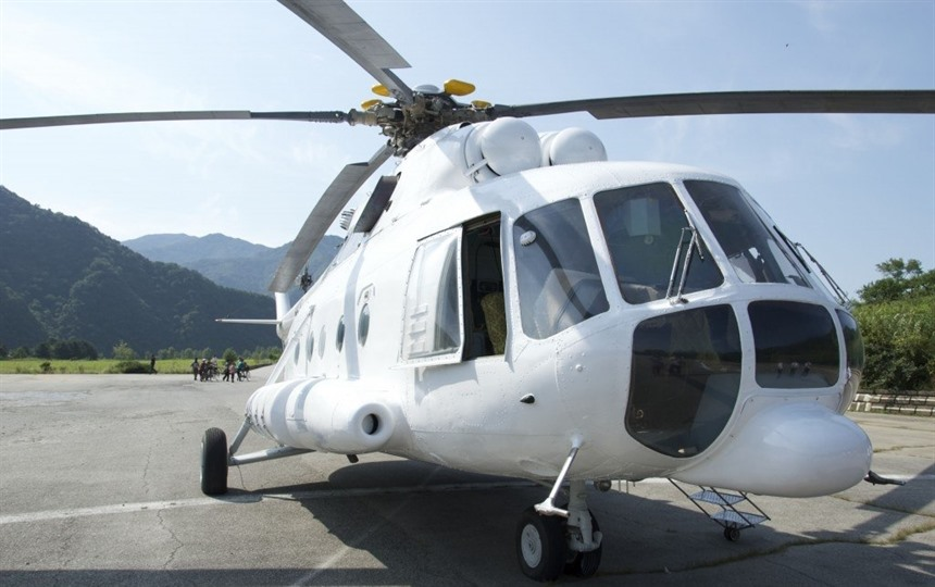North Korea by Helicopter : Section 2