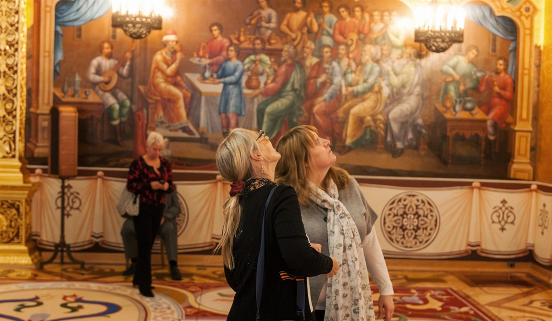Inside Moscow's grand kremlin palace : Section 1