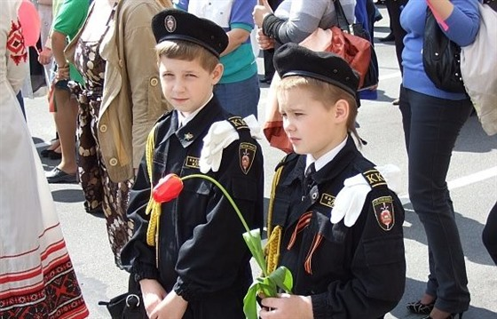 Victory day in Minsk, a very Belarusian celebration : Section 3
