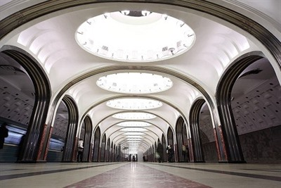 Five Of The Best Moscow Metro Stations