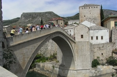 After the war: retracing childhood footsteps in Mostar