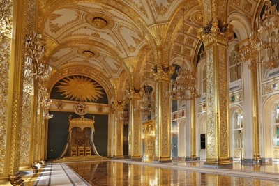 Inside Moscow's grand kremlin palace