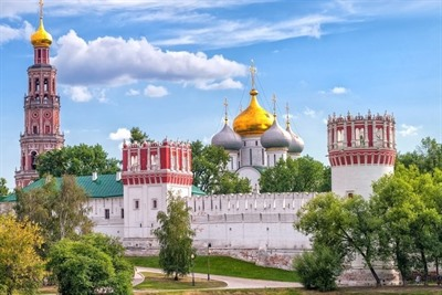 Moscow's Novodevichy park
