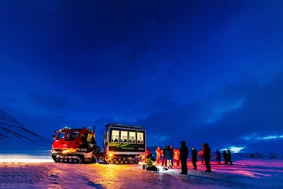 Top five things to do in Svalbard in winter