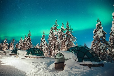 Top trips to Finnish Lapland using Finnair's new direct flights