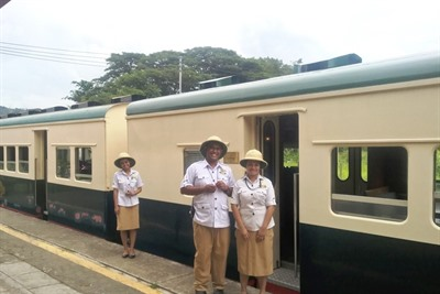 Travels along the North Borneo Railway