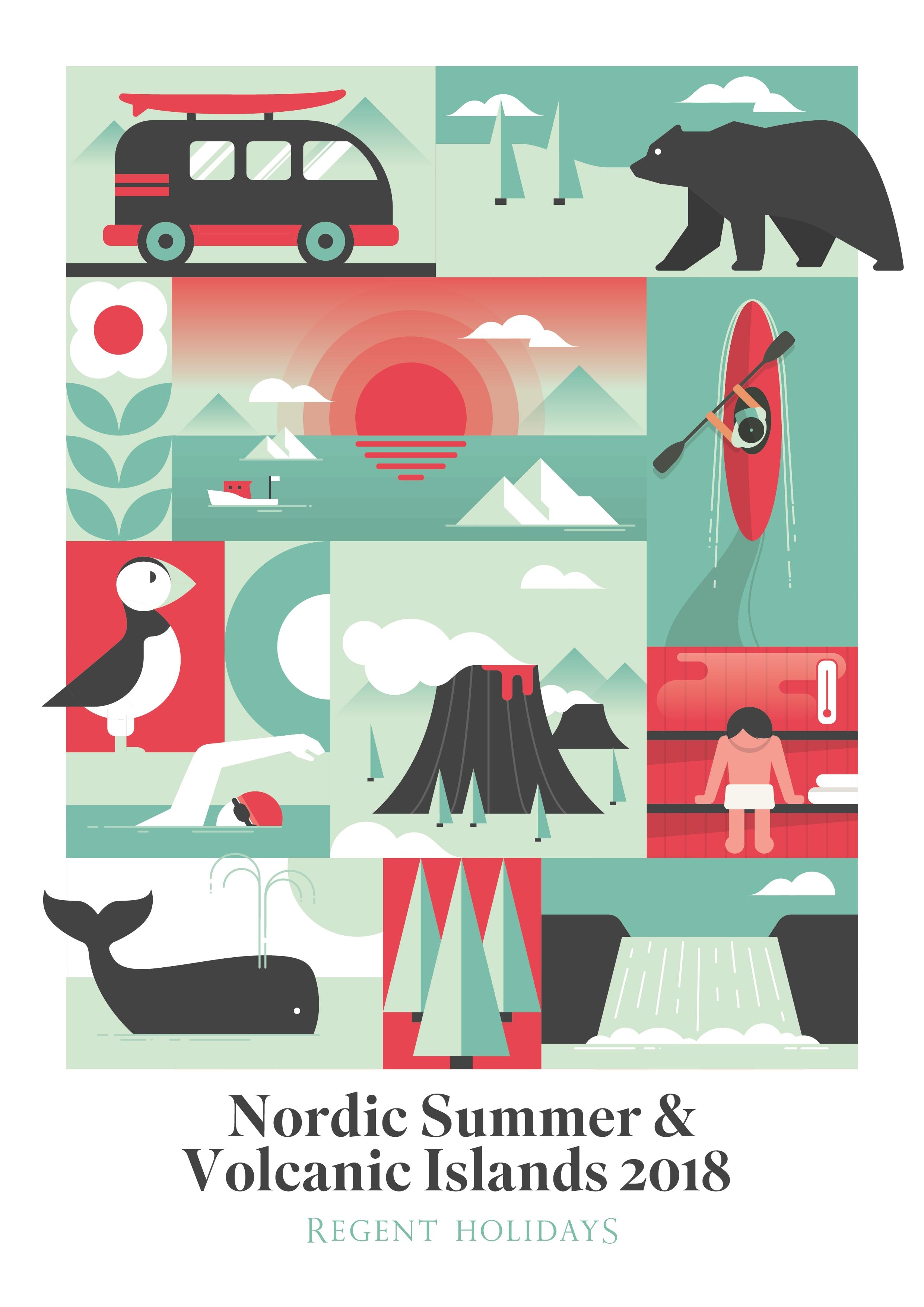 Nordic Summer & Volcanic Islands 2018