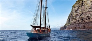 Cruise on the Nordlysid Schooner 1
