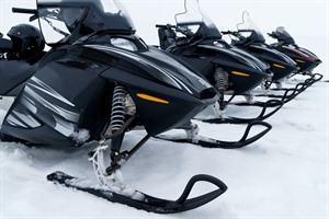 Glacier Snowmobile from Gullfoss 3