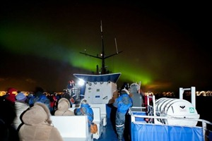 Seeing the Northern Lights by Boat