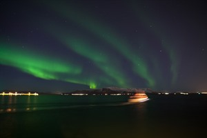 Northern Lights by Boat 2