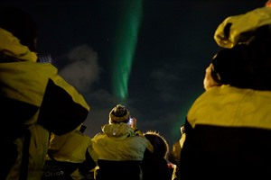 Northern Lights by Boat 3