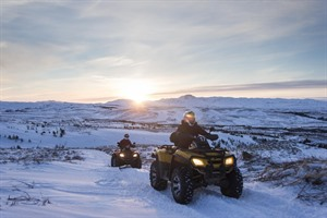 Snowmobiling or Quad Biking 2