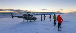 Volcanoes & Glaciers Helicopter Tour
