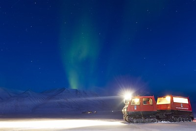 Northern Lights Safari by Snow Cat