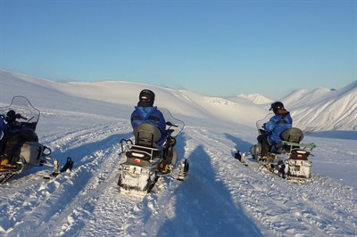 Snowmobile Safari in the Lyngen Alps