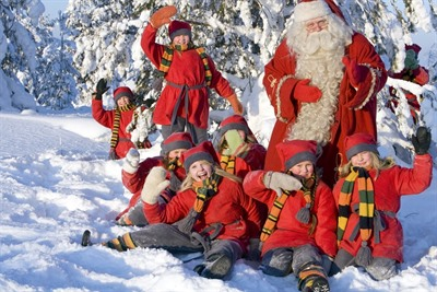 Snowmobile Safari to a Reindeer Farm and Santa Claus Village