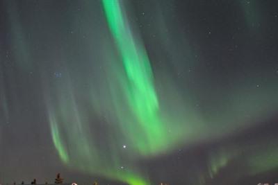 Walk of Senses under the Stars and Northern Lights