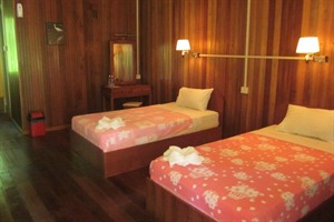 Abai Jungle Lodge - twin room